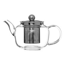 High Borosilicate Teapot with Strainer, 500 ml