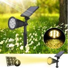 Solar 7 LED Garden Lamp Spot Light