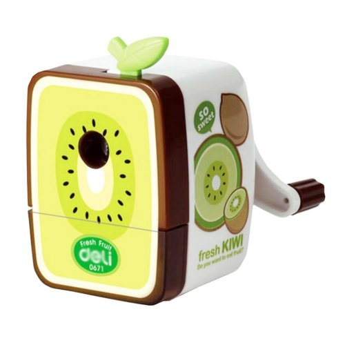 Lovely Office & School Supplies Hand Rotating Pencil Sharpener - Kiwi Fruit