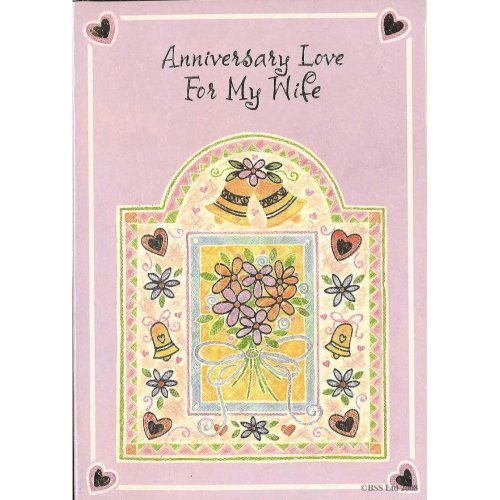 Anniversary Love for My Wife Greeting Card