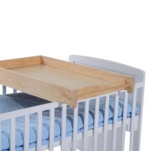 Homcom Wooden Cot Top Changer Baby Station 87lx50wx10h(cm)