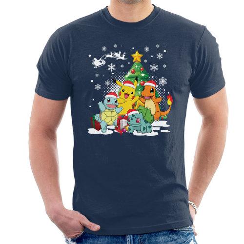 82e2c7cbb Pokemon Under The Christmas Tree Men's T-Shirt on OnBuy