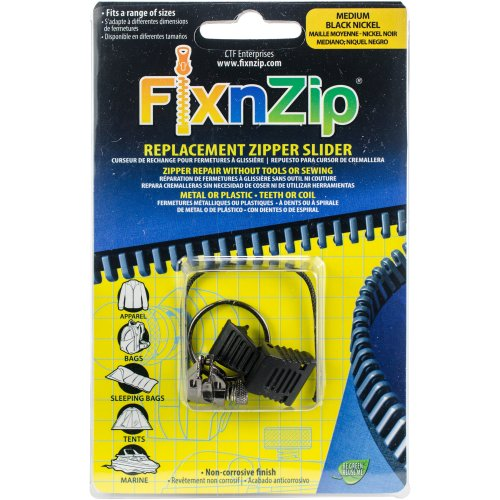 FixnZip Zipper Repair-Medium Graphite