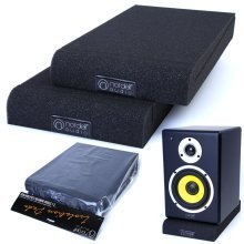 Pair of Studio Monitor Speaker Acoustic Isolation Foam Pads Isolator 2 x Sizes