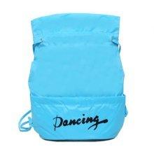 Fresh Color Dance Bags Latin Ballet Backpack Sport Bag, Blue