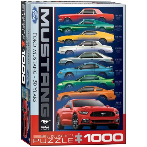 Eg60000699 - Eurographics Puzzle 1000 Pc - Ford Mustang 50th Anni