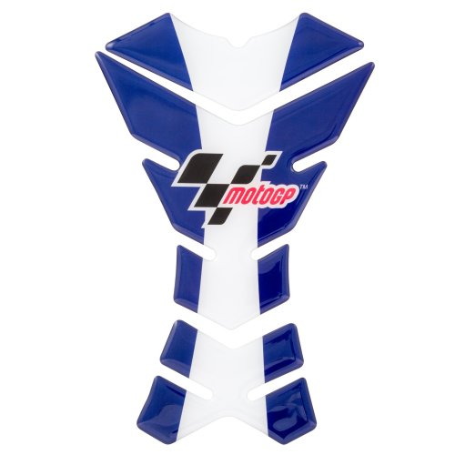 MotoGP Official licensed fuel tank pad in blue and white