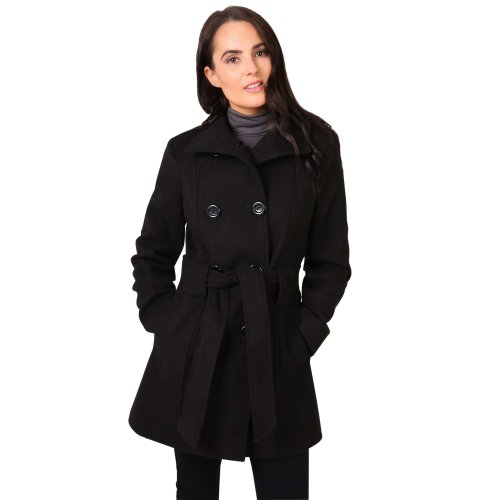 Belted Double Breasted Winter Coat