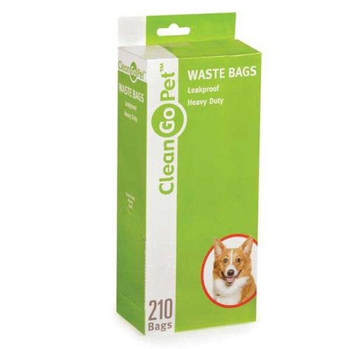 Clean Go Pet ZW8112 21 87 Heavy Duty Doody Waste Bag 21 Pk Silver