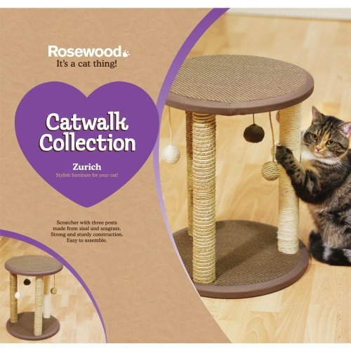 Rosewood Zurich & Saffron Cat Scratcher Post