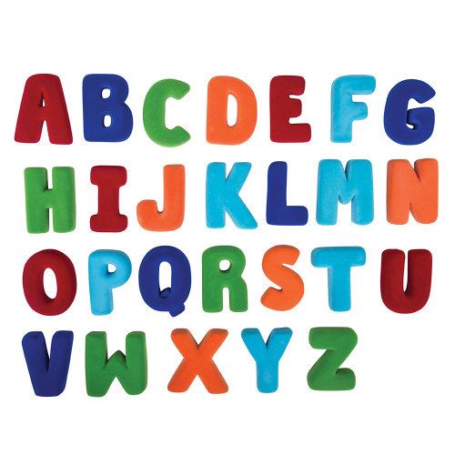 Rubbabu Small Alphabet Set Upper Case