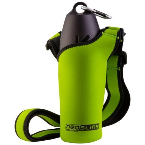 H2O4K9 Neoprene Water Bottle Carrier, Treefrog Green