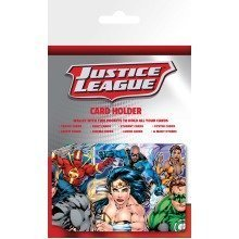 Dc Comics Justice League Group Travel Pass Card Holder