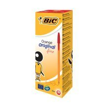 Bic Orange Fine Red Pens (pack of 20)