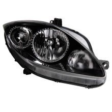 Seat Leon Mk2 9/2005-7/2007 Headlight Headlamp Drivers Side O/s