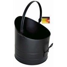 Black Round Fireside Bucket -  blackspur bbfs316 round fireside bucket
