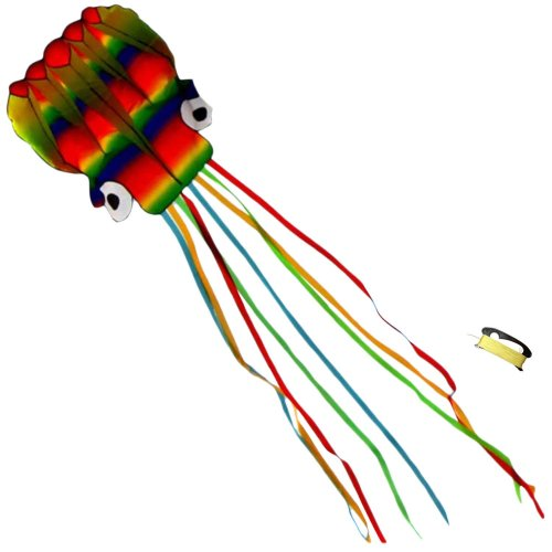 Huge Rainbow Octopus Kite for Kids and Adults - 4 Meter Flowing Tails – Superb Outdoor Toy