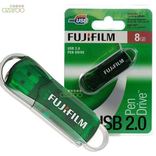 New Fujifilm USB 8GB 2.0 High Speed Computer Laptop Pen Drive Document Storage