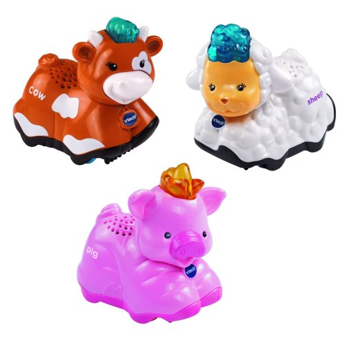 Vtech 215343 Baby Toot-Toot Animals - Pig, Sheep and Cow