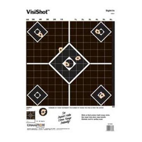 Champion Traps and Targets 45804 Visishot, Sightin-10-Pk