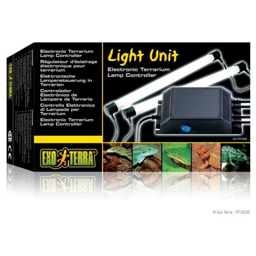 Exo Terra Fluorescent T8 Light Unit Double 30w