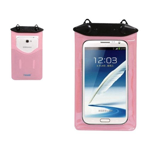 """6.9""""*4.3""""PINK Waterproof Underwater Swimming Diving Dry Bag Pouch"""