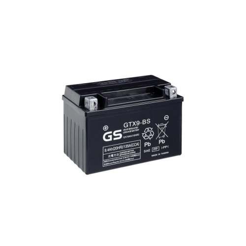 Motorcycle MF VRLA Battery 12V - 8Ah - 135CCA