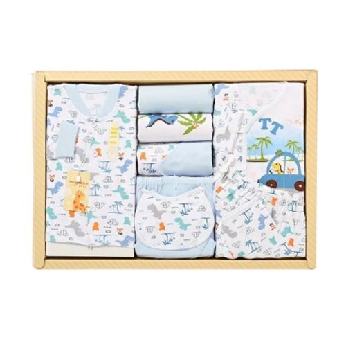 Cotton Clothing, Baby Products Newborn Gift Sets/Gift Box (Sets Of 9)
