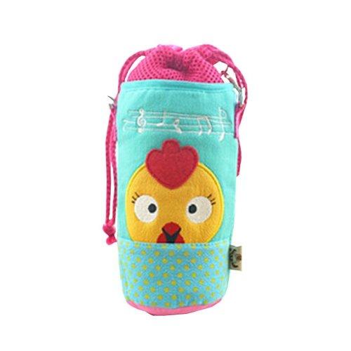 Insulated Baby/Kids Bottle Tote Bag Portable Fashion Feeding Bottle Bag Blue