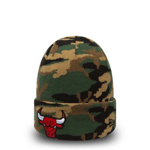 New Era Camo Knit Beanie ~ Chicago Bulls on OnBuy 7b52c002993