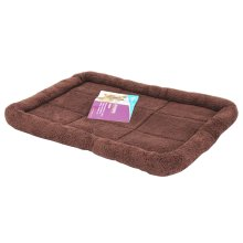 Comfortable Pet Bed Pet Mats Cat/ Dog House Bed 46 x 34CM -Coffee