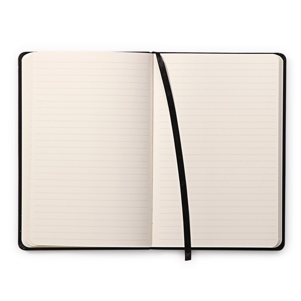 Rhodia Black Webnotebook 5.5X8.25 Lined