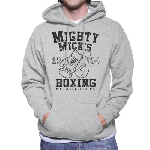 Rocky Inspired Mighty Micks Boxing Men's Hooded Sweatshirt