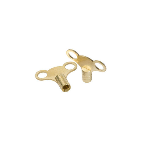 Dickied Brass Clock-type Radiator Bleed Keys 2pk - 11.016 - Dickie Dyer Brass -  dickie dyer brass clocktype radiator bleed keys 2pk 11016 476883