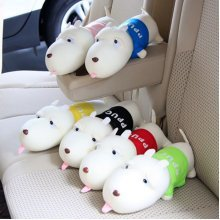 Car Air Freshener Cute Dog Activated Bamboo Charcoal Bag Home Clean Up Absorb Odor Deodorant