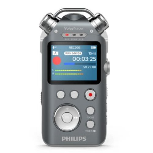 Philips DVT7500 Internal memory & flash card Anthracite,Chrome dictaphone