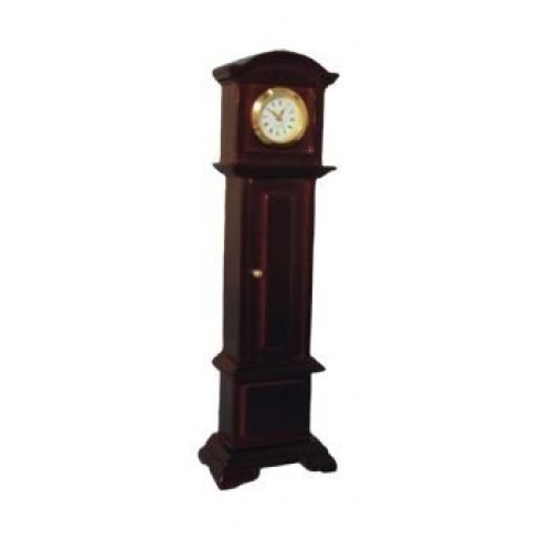 Streets Ahead Mahogany Working Grandfather Clock 1/12 Scale