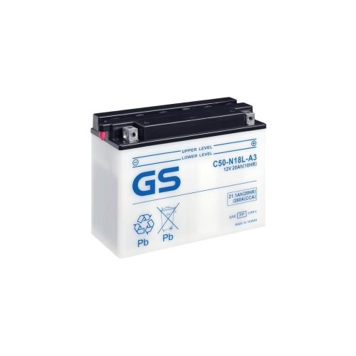 Motorcycle CB Series Battery 12V - 20Ah - 260CCA