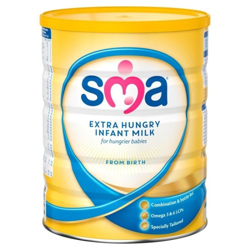 SMA Extra Hungry Infant Milk From Birth 800g