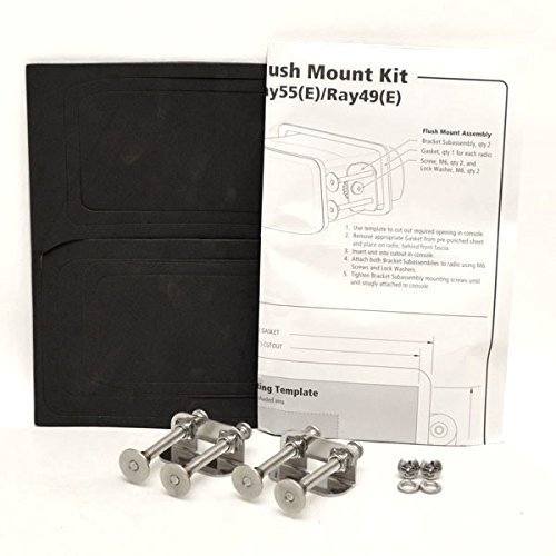 Raymarine Rear Mounting Flush Mount Kit f/ Ray49/55/218
