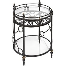 Clock Side Table - Perfect Addition Your Home -  clock side table perfect addition your home