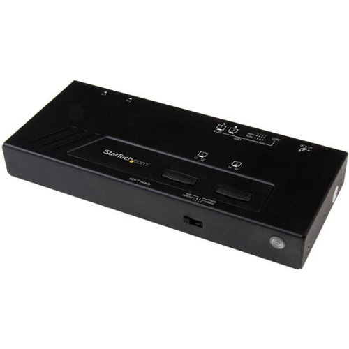 StarTech.com 2x2 HDMI Matrix Switch - 4K with Fast Switching and...