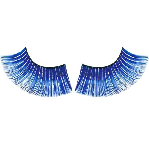 3 Pairs Charming Blue False Eyelashes Party Art Eyelashes