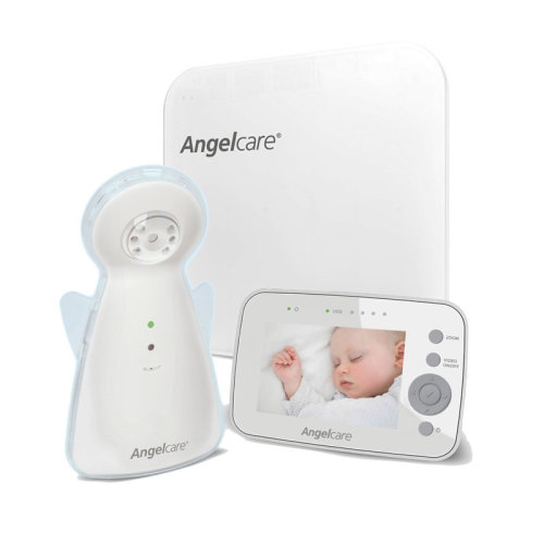 """Angelcare AC1300 Digital Video Movement and Sound 3.5"""" Screen Baby Monitor"""