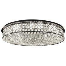 Hendon Flush Fitting Oval LED Ceiling Light