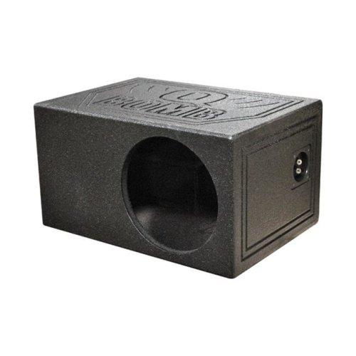 Qpower QBOMB10VLSINGLE 10 in. Single Qbomb Woofer box