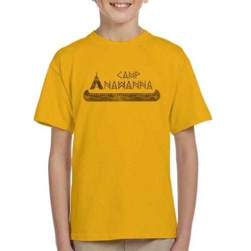 Salute Your Shorts Camp Anawanna Kid's T-Shirt