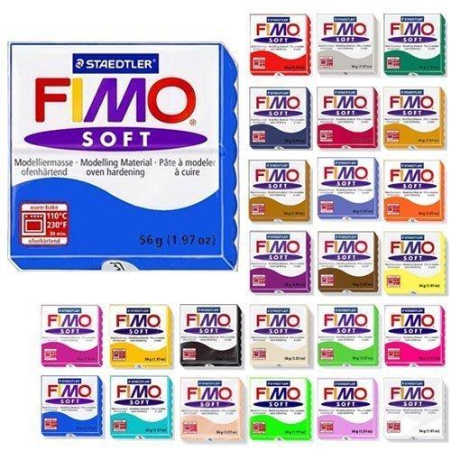 Fimo Soft Starter Pack 12 x 56g Multicolour Blocks