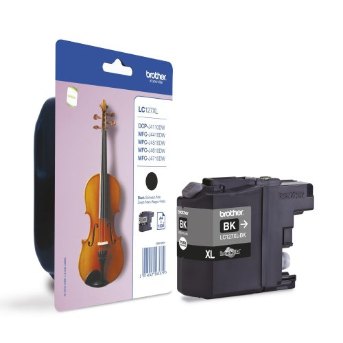 Brother Lc-127xlbk 1200pages Black Ink Cartridge