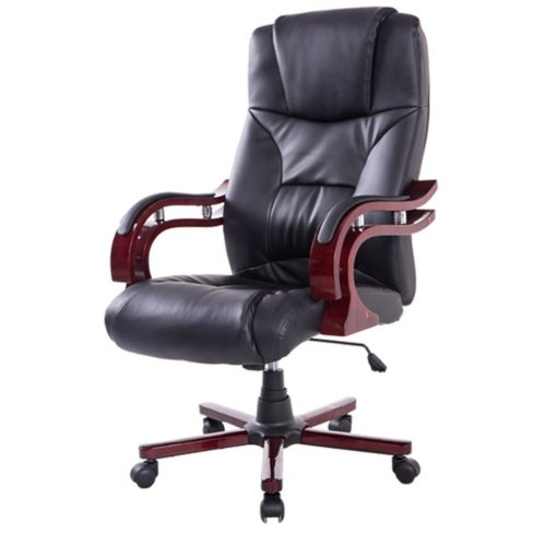 Homcom High Back Executive Chair | PU Leather Chair